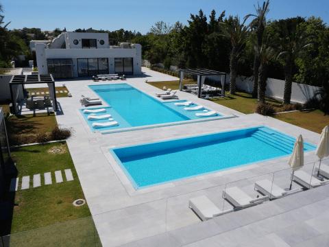 piscine maison en Israël