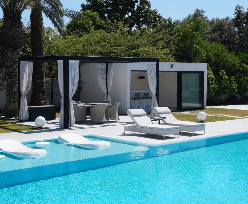maison piscine israël orelon